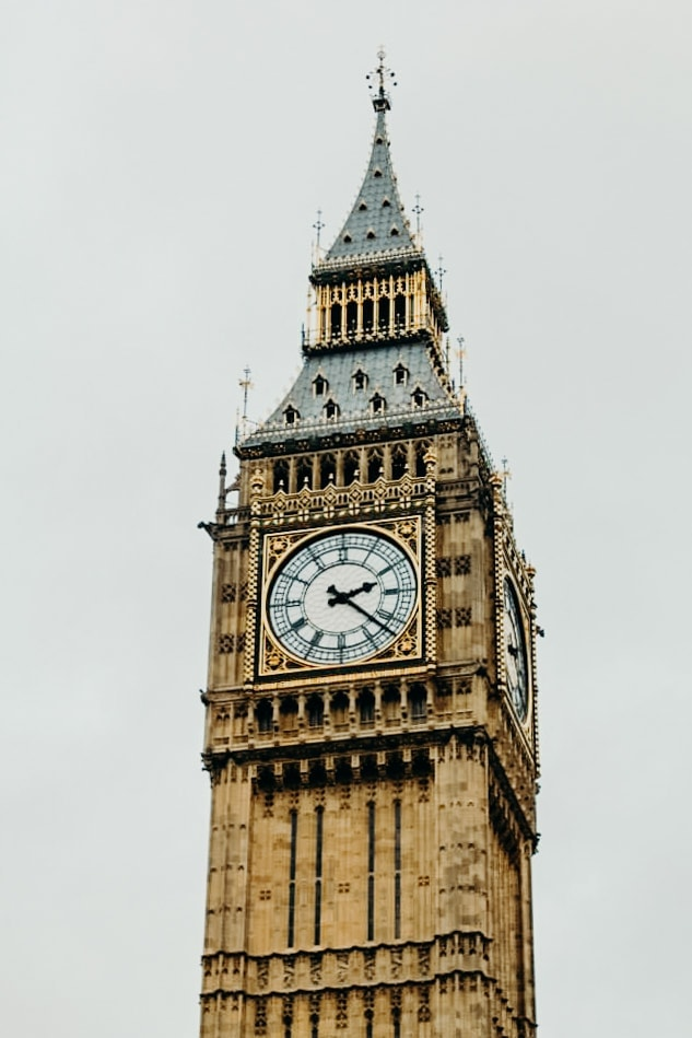 close up Big Ben London England