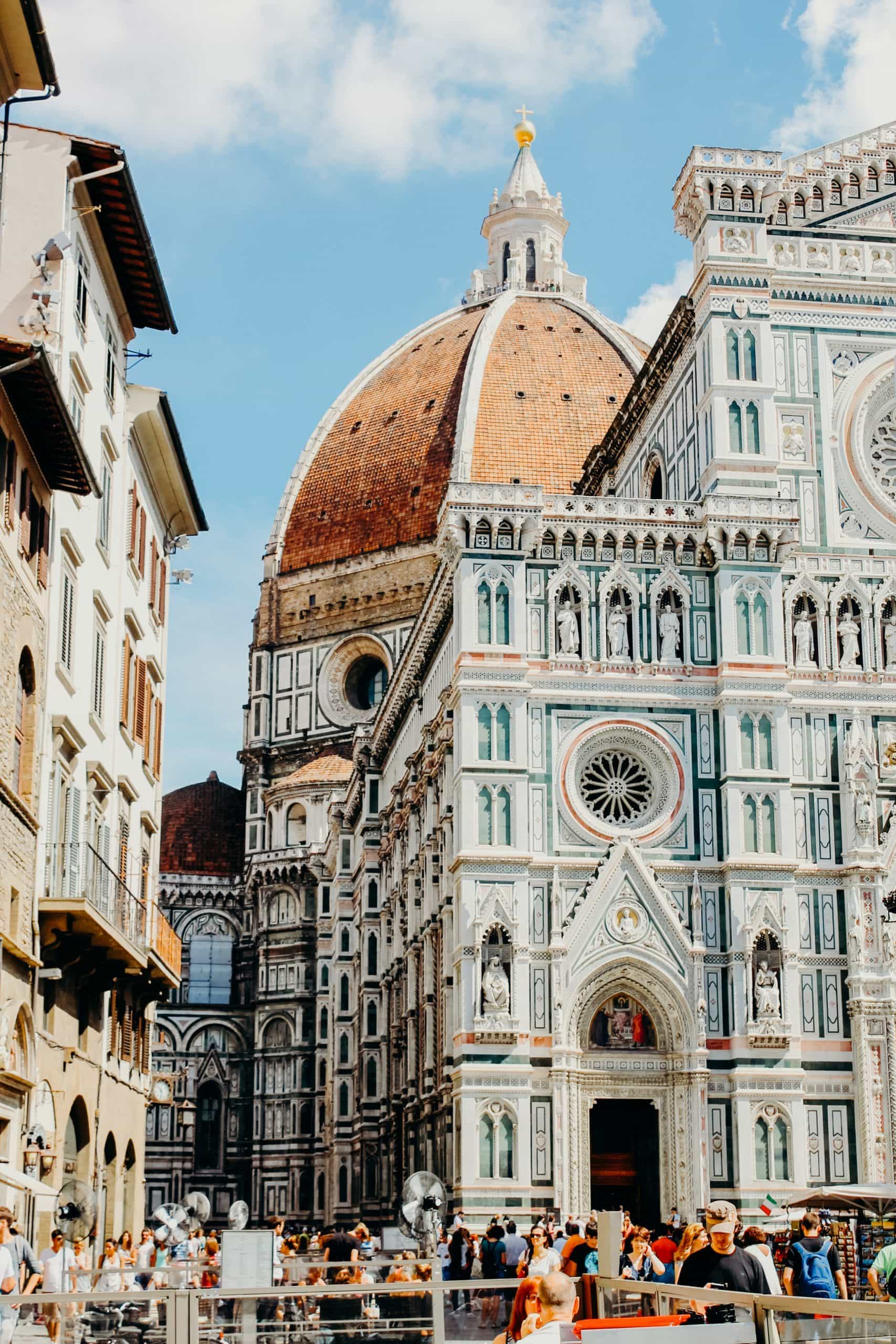 close up Florence cathedral duomo Italy
