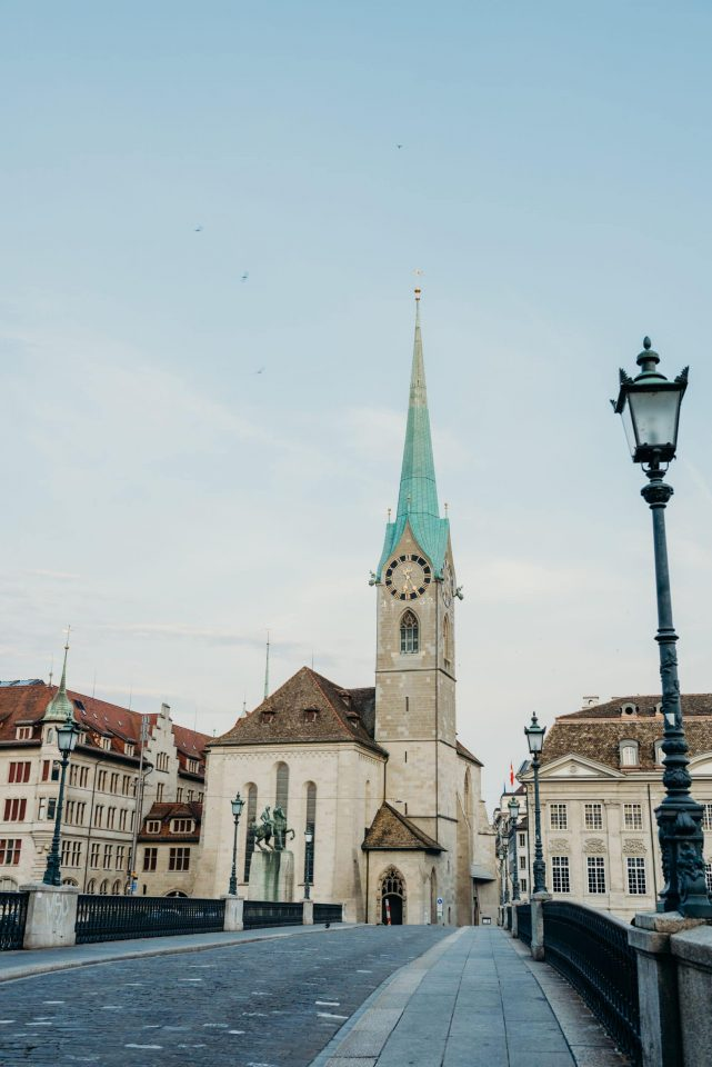 Fraumünster church zurich switzerland