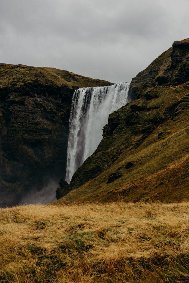 Skógafoss waterfall south iceland
