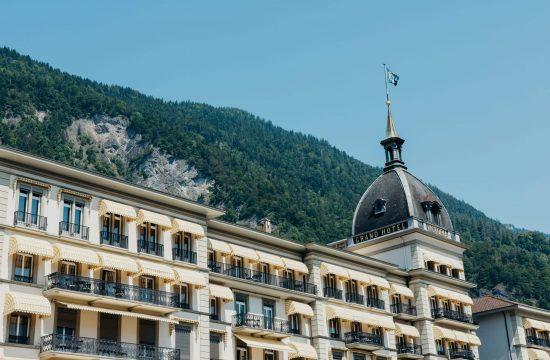 victoria jungfrau grand hotel exterior view