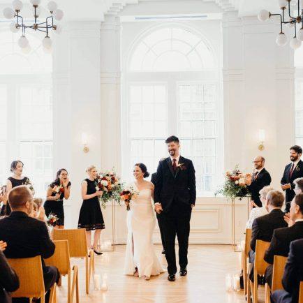 tennessee wedding venues couple at saidee gallery ballroom Noelle Hotel