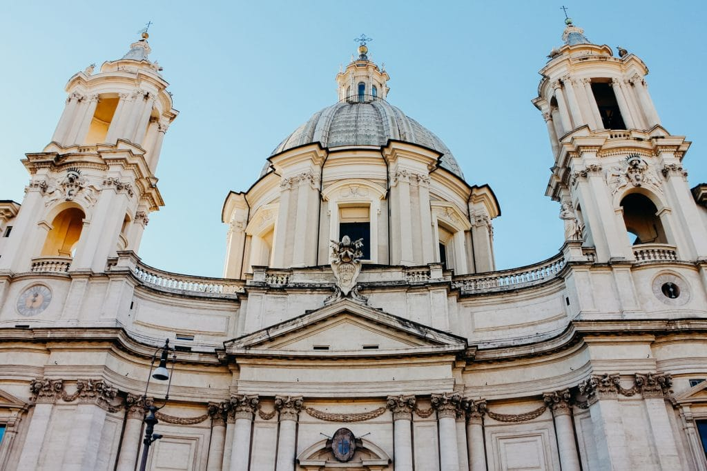 up close rome italy architecture