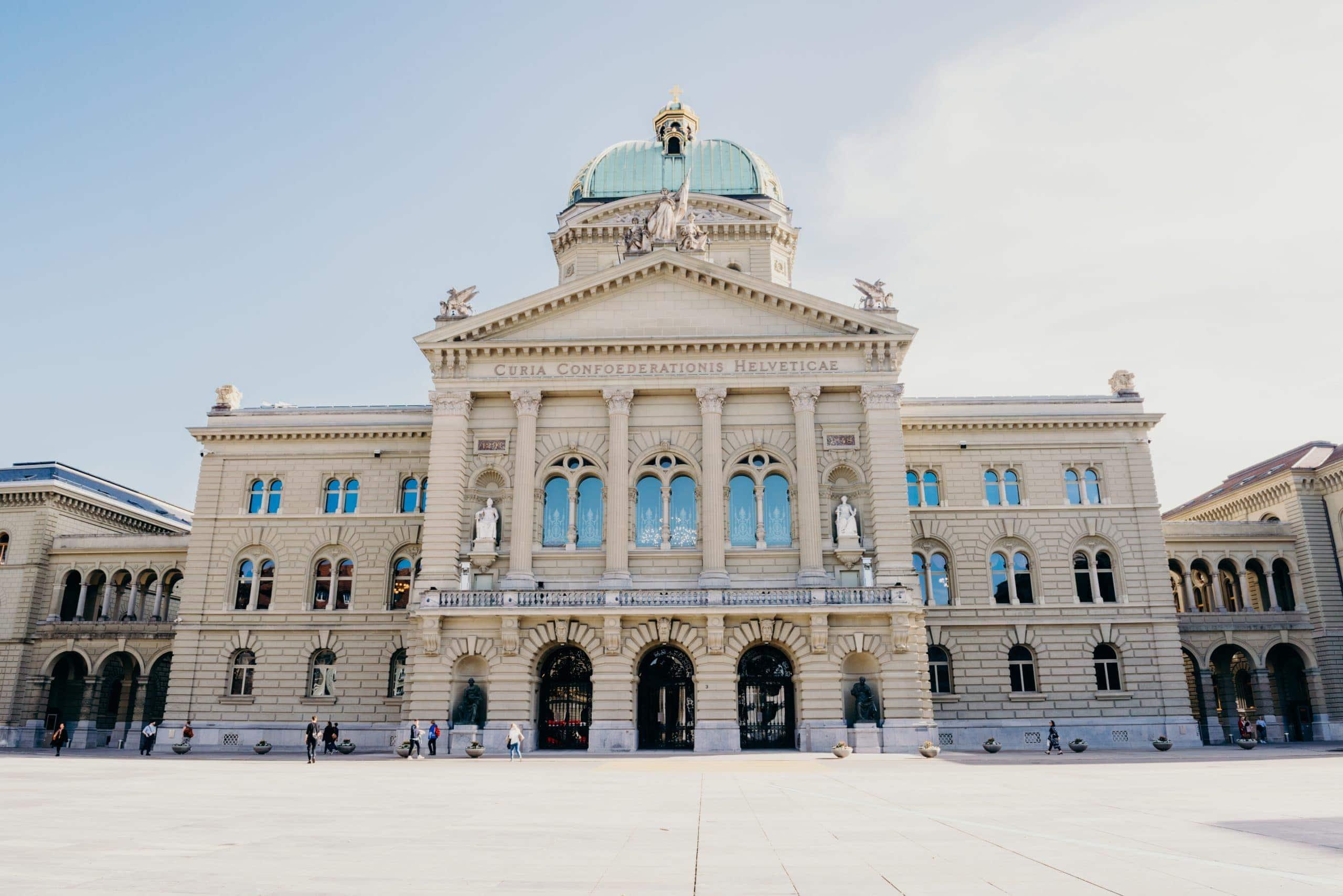 Bern switzerland things to do Bundeshaus parliament building